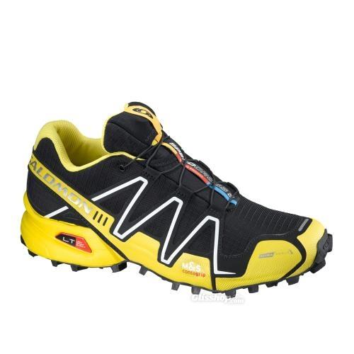 salomon speedcross 3 how to tie yellow