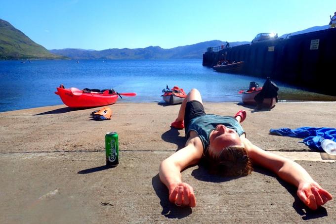 Kayaking - Mon 11th Jul 2016 - Scottish Sea Kayaking Trip