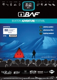 2012 Buxton Adventure Festival Poster