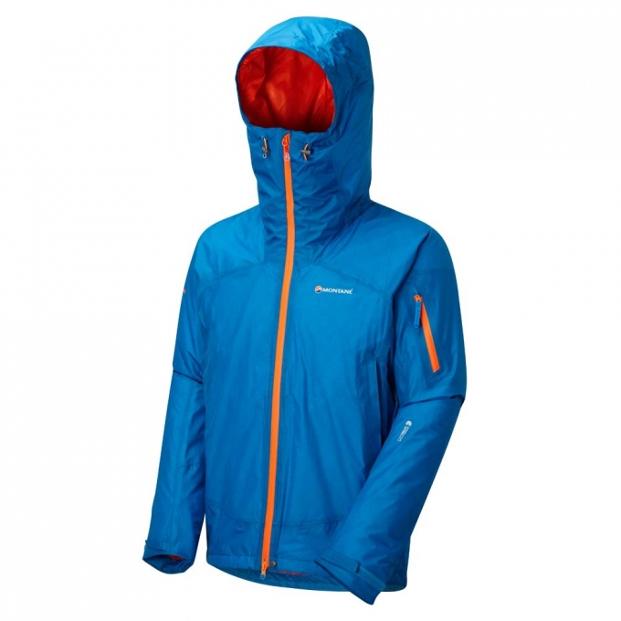 Montane Mens Minimus Stretch Ultra Pull-On Red Sports Outdoors Half Zip Water