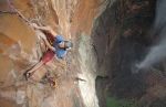 Ben Heason on pitch 17 of Rainbow Jambaia - Angel Falls