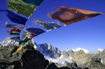 My favourite photo During dark times these prayer flags provided hope high up in the Goykio region, Nepal - Photo Douggs