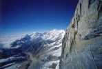 John Varco on the first ascent of the South East ridge of Annapurna III a 7555m peak in Nepal