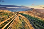 An autumn sunrise on Mam Tor