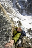 Andy Cave - Aiguille Verte 001