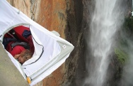 Anne And John Arran Gallery 10 - Sleeping on air - Anne on camp 4 Angel Falls - Venezuela