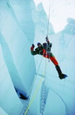 Stephen Venables Crossing the Jaws of Doom on Everest PhotoEdWebster (2)