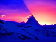 Matterhorn sunset Photo-StephenVenables