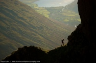 out there - high above Wasdale