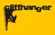 cliffhanger logo yellow background