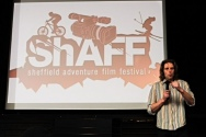 ShAFF Press Launch - Organiser Matt Heason 2